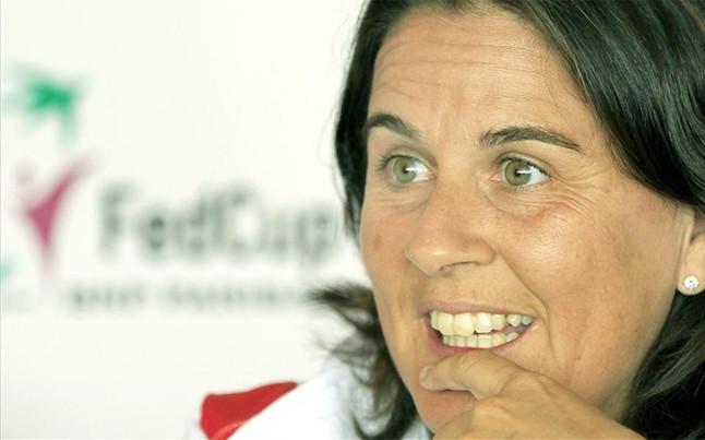 Conchita Martínez. Fuente: EFE