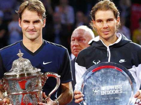 Roger Federer y Rafa Nadal. Fuente: Rfet