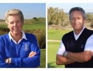 Manuel Piñero y Marta Figueras-Dotti, capitanes de los equipos olímpicos españoles de golf