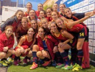 Las 'Redsticks' se concentran en Madrid