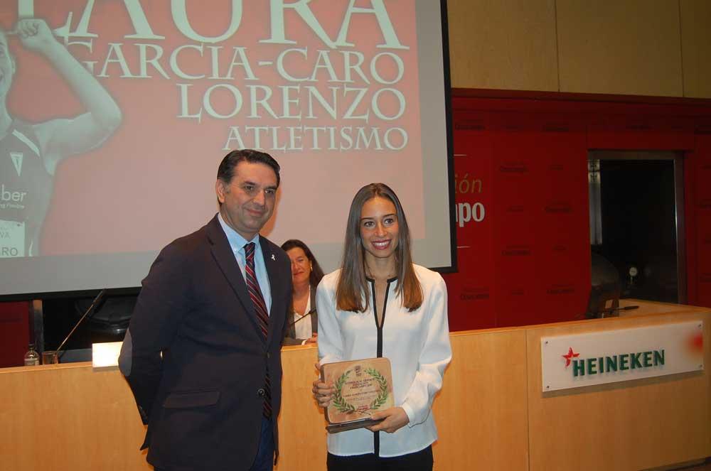 Francisco y Laura García-Caro. Fuente: ER/Avance Deportivo