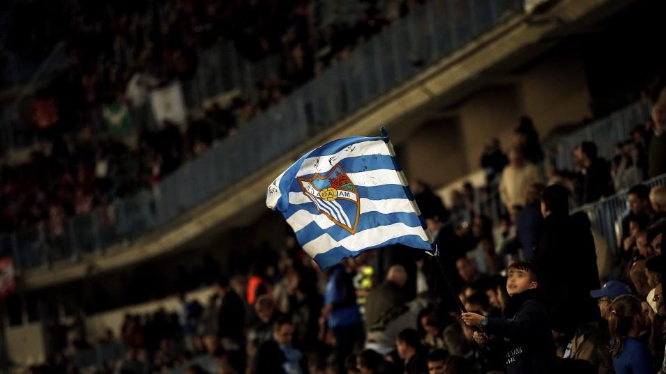 Afición Málaga CF. Fuente: AD