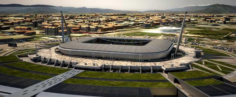 Juventus de Turin Stadium in Italy. Fuente: archidesart.com