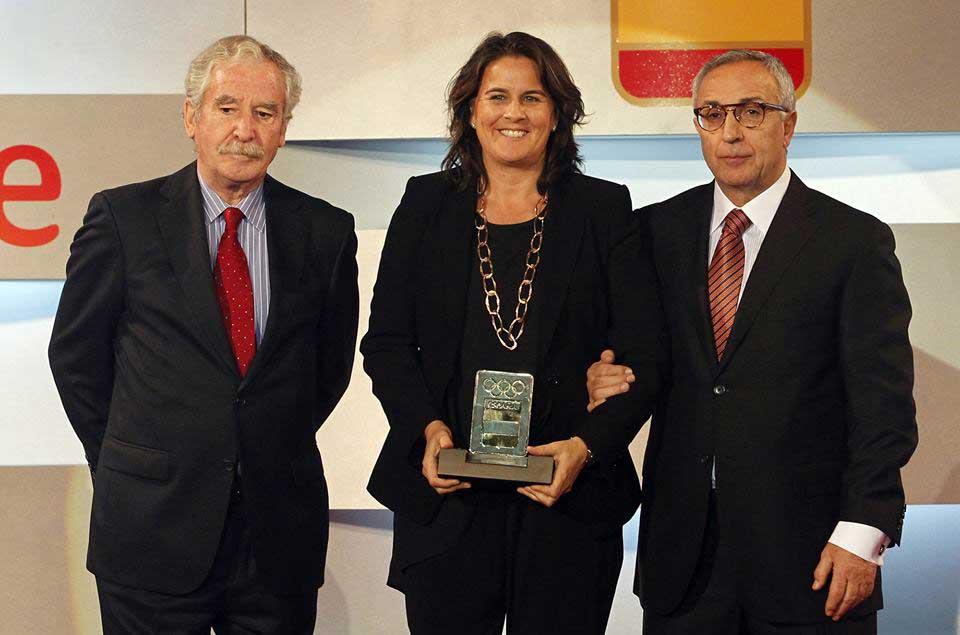 Conchita Martínez y Blanco. Fuente: COE