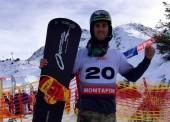 Lucas Eguibar, 5º en la copa del mundo de Montafon
