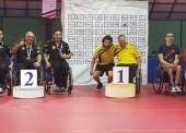 2 platas y 1 bronce en el Open de Costa Rica