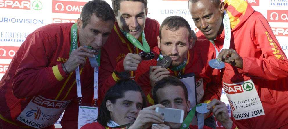Equipo español cross. Fuente: EFE