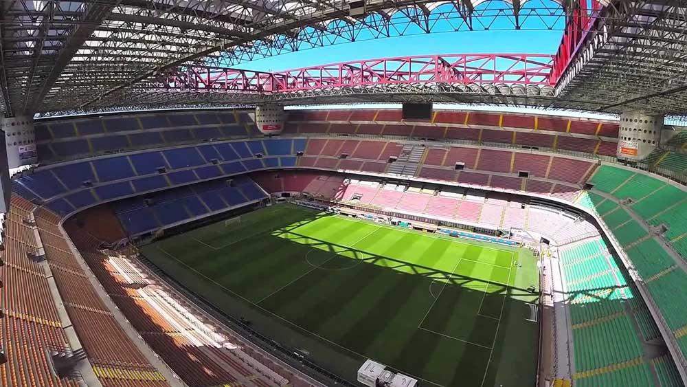 San Siro AC Milan Inter Milan Italy Stadio Giuseppe Meazza. Fuente: AD