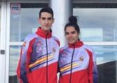 Marta Calvo y Jesús Tortosa, a por la patada olímpica