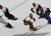 Lucas Eguibar, 8º en la Copa del Mundo de snowboardcross