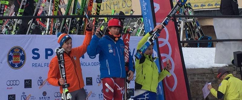 Trujillo y Gómez, 1º y 3º en el podio. Fuente: Fadi