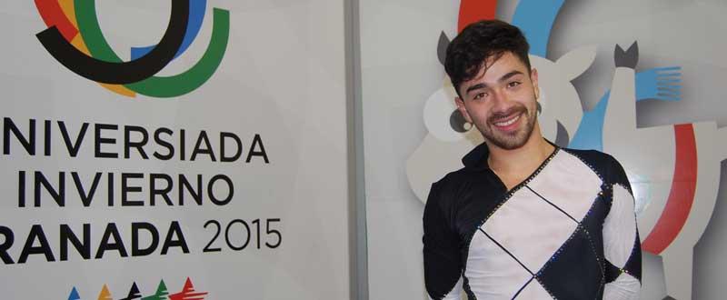 Felipe Montoya en la Universiada. Fuente: LPT/Avance Deportivo