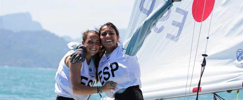 María Caba y Carla Díaz. Fuente: Europa Press