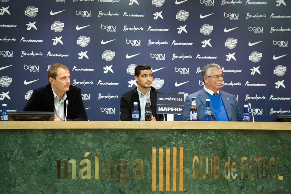 Presentación 'Chory' Castro. Fuente: Coraima Mengíbar/Avance Deportivo