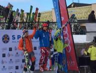 Andrés Trujillo consigue el 3º puesto en el Trofeo Borrufa, categoría FIS