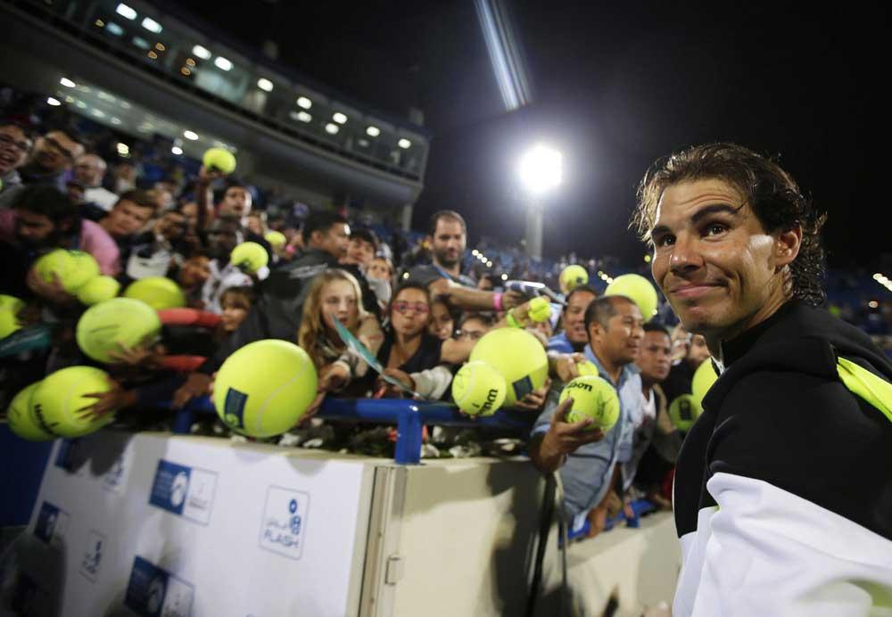 Rafa Nadal. Fuente:  EFE/Ali Haider