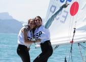María Caba y Carla Díaz, bronce en 420