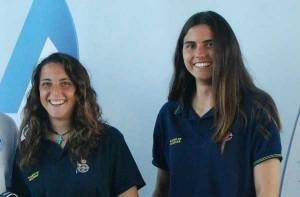 María Caba y Carla Díaz. Fuente: Real Club Náutico Gran Canaria