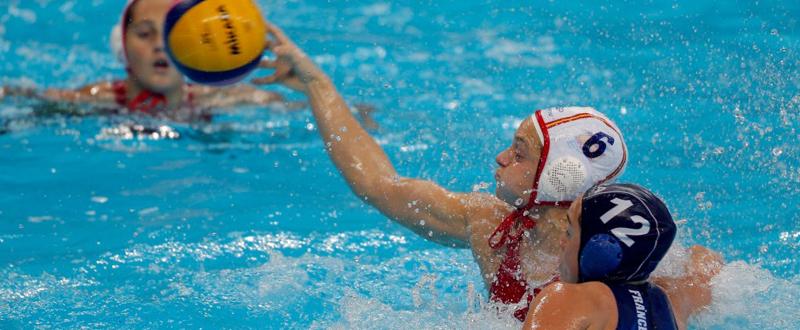 La jugadora de la selección española, Jennifer Pareja. Fuente: Pedja Milosavljevic