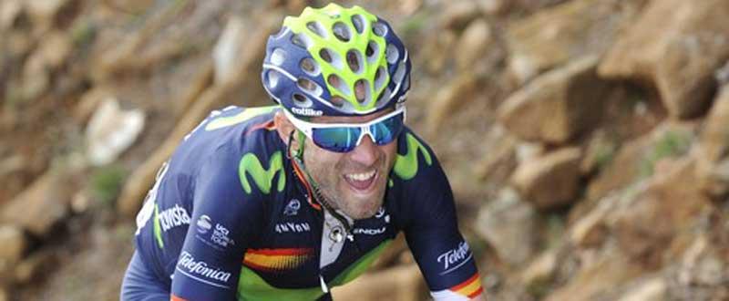 Alejandro Valverde. Fuente: Vuelta Andalucía 2016