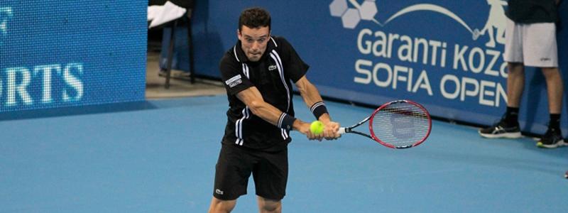 El tenista castellonense, Roberto Bautista, en el Open de Sofía. Fuente: Karanti Koza Sofia Open