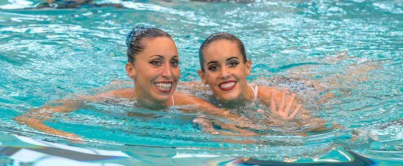 Gemma Mengual y Ona Carbonell. Fuente: EFE