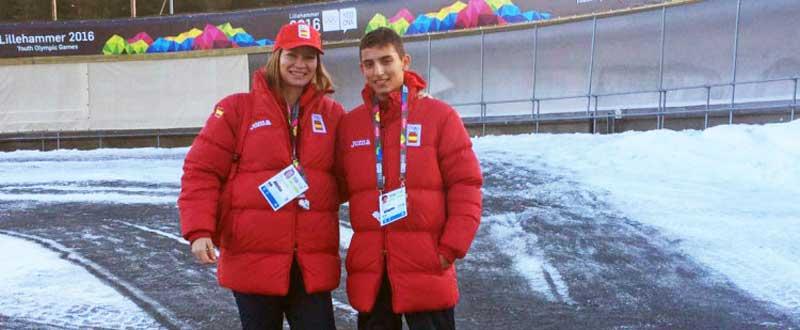 Oxana y Souto. Fuente: AD