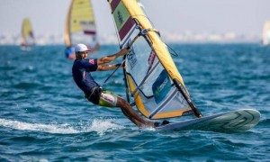 El windsurfista Iván Pastor. Fuente: RFEV