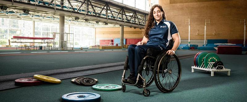 La levantadora de peso, Loida Zabala, participará en los Juegos Paralímpicos de Río. Fuente: Liberty Seguros