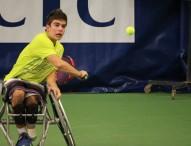 De la Puente gana el campeonato de España de tenis en silla