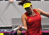 Muguruza guía a España al playoff de ascenso de la Fed Cup