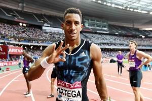 Orlando Ortega. Fuente: IAAF