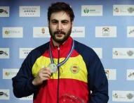 Pablo Carrera, subcampeón de Europa en pistola 10 metros