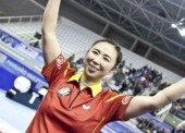 Yanfei Shen manda en el tenis de mesa de Europa
