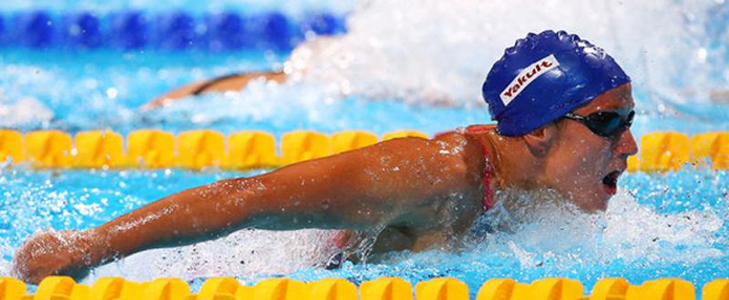 Mireia Belmonte, una de las protagonistas en el Open de Primavera tras lograr dos mínimas olímpicas.