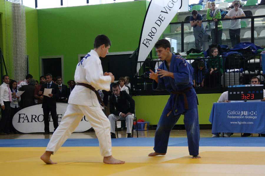 Oriol Subirana (azul). Fuente: AD
