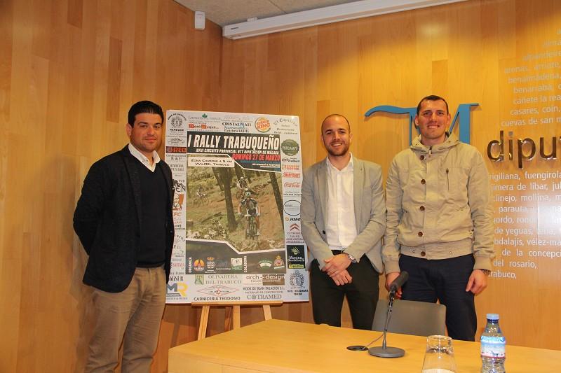 Presentaciónl I Rally Trabuqueño. Fuente: Diputación de Málaga.