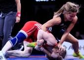 Eugenia Bustabad finaliza en 5ª posición en el Europeo de lucha