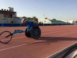 Jordi Madera en un entrenamiento.