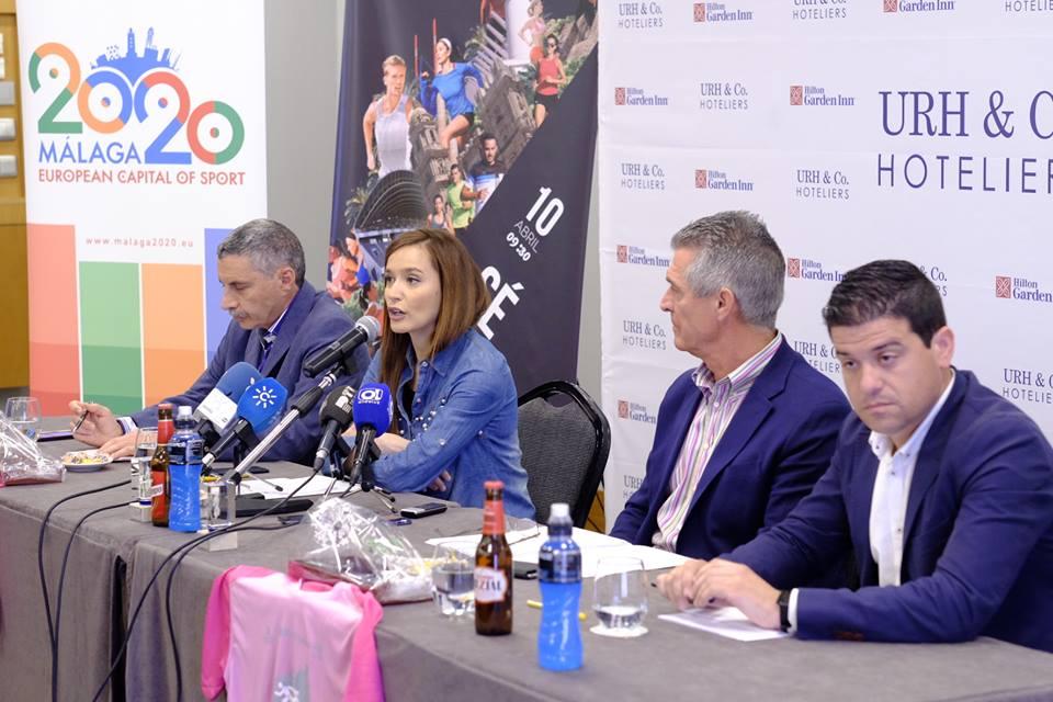 Presentación Media Maratón Málaga. Fuente: AD