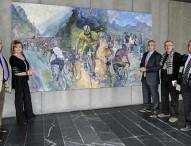 La pintura y el deporte unidos en el COE