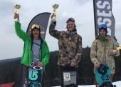 Podio español en la Copa de Europa de snowboard