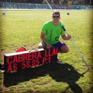 Cabrera tras lograr el billete para Río
