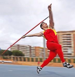 El valenciano en un entrenamiento