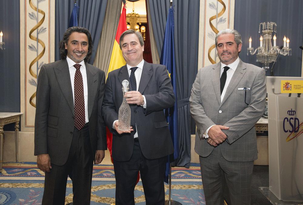Miguel Cardenal en la reunión SIGA en Madrid. Fuente: CSD