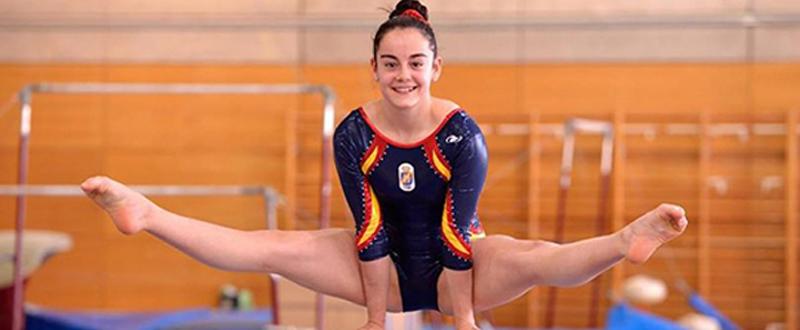 La gimnasta sevillana de 18 años, Ana Pérez, logra plaza para los Juegos Olímpicos. Fuente: RFEG