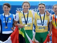 Anna Boada y Aina Cid logran el bronce en la Copa del Mundo de Remo