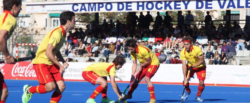 España-Argentina. Fuente: Rfeh