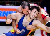 Taimuraz Friev acaricia la plaza olímpica en Serbia