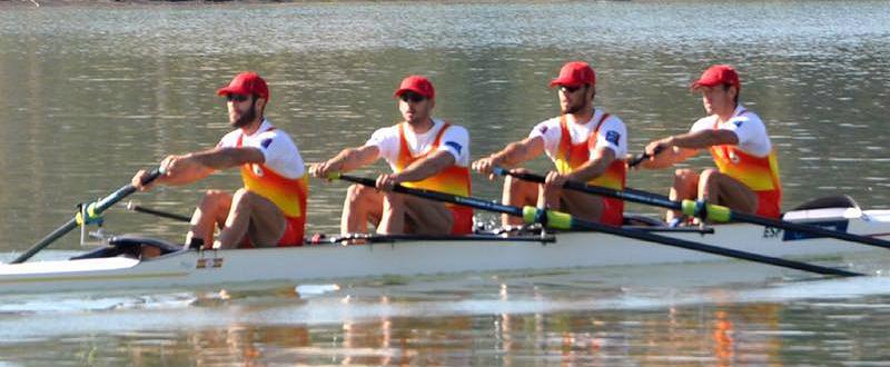 Javier García, Jaime Canalejo, Ismael Montes y Antonio Guzmán. Fuente: AD